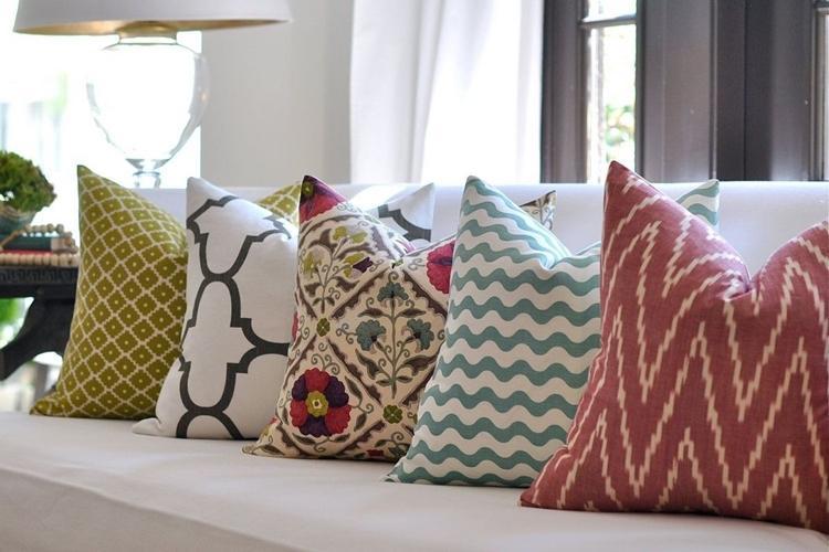 Пошив декоративных наволочек на подушки