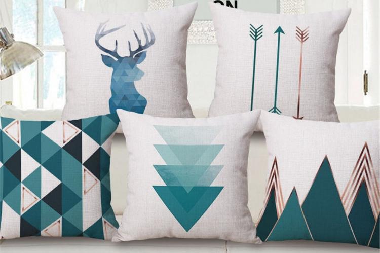 Уютный скандинавский стиль - Декоративные подушки своими руками