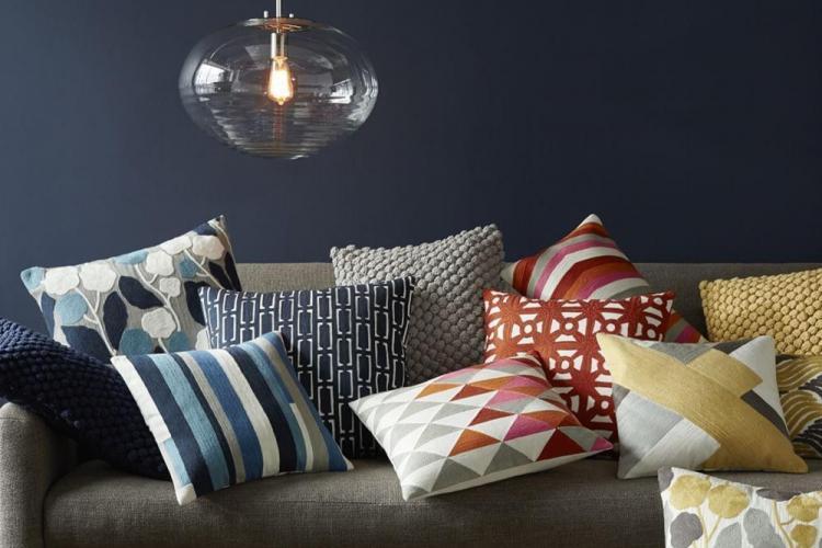 Индустриальный лофт - Декоративные подушки своими руками