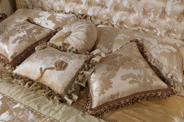 Роскошная классика - Декоративные подушки своими руками