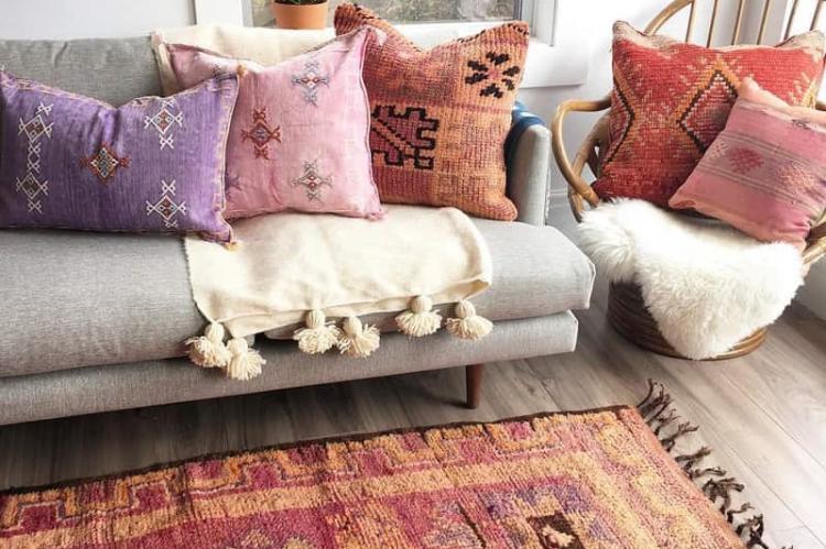 Причудливый бохо - Декоративные подушки своими руками