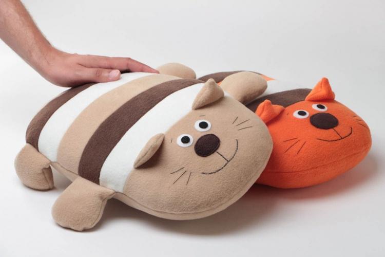 Подушки-игрушки - Выкройки и идеи для декоративных подушек своими руками