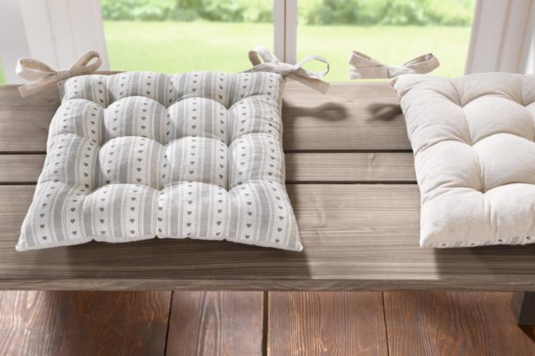 Подушки для стульев - Выкройки и идеи для декоративных подушек своими руками