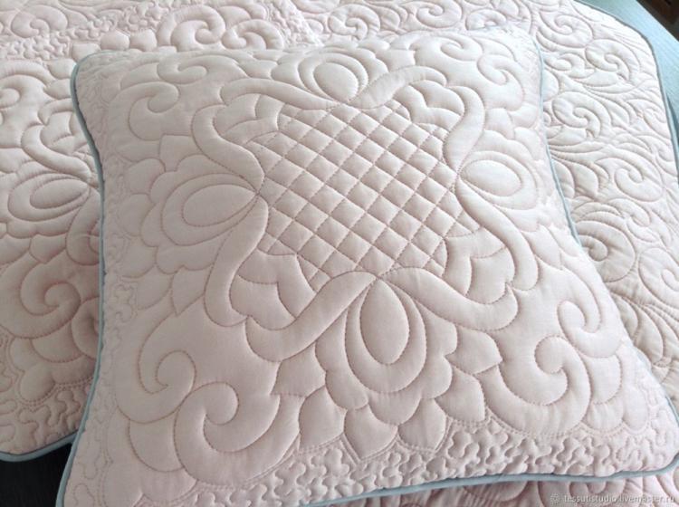 Стеганые подушки - Выкройки и идеи для декоративных подушек своими руками