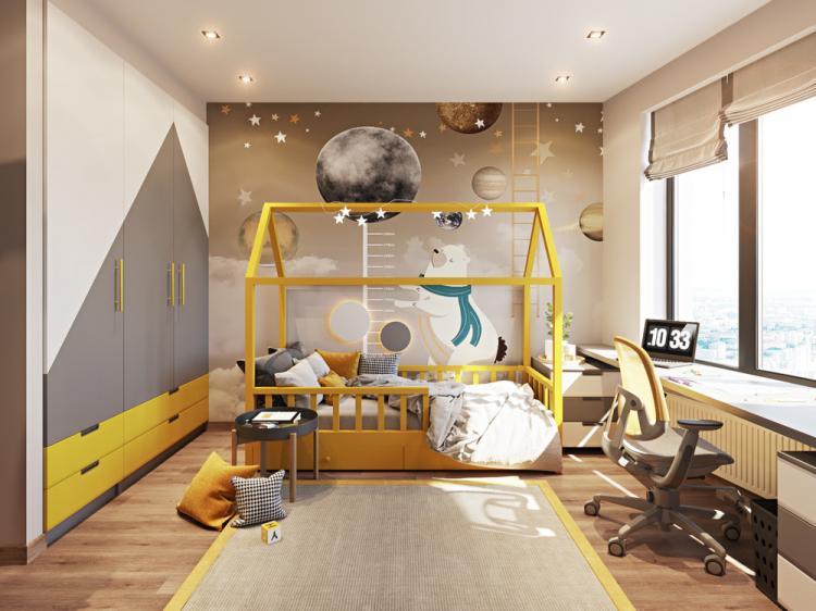 Детская комната для 6-ти летнего мальчика