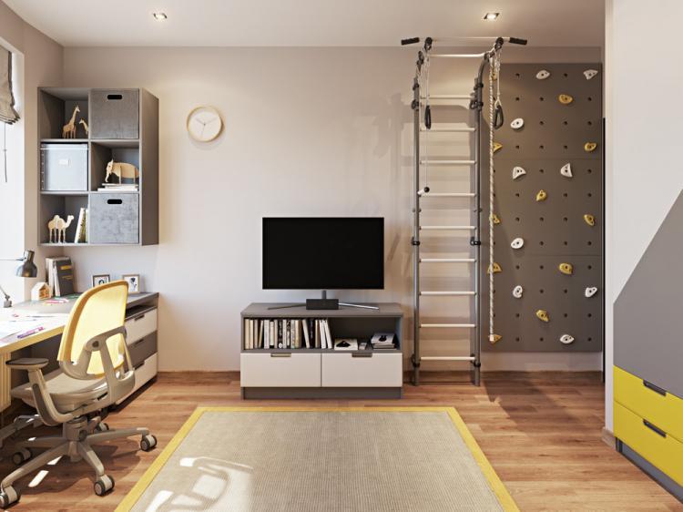 Детская комната для 6-ти летнего мальчика - дизайн интерьера