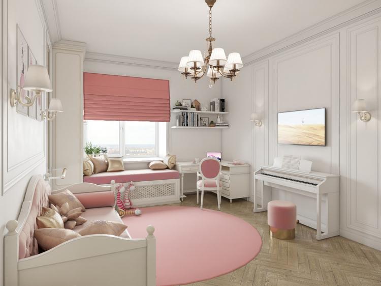 Детская комната для девочки - дизайн интерьера