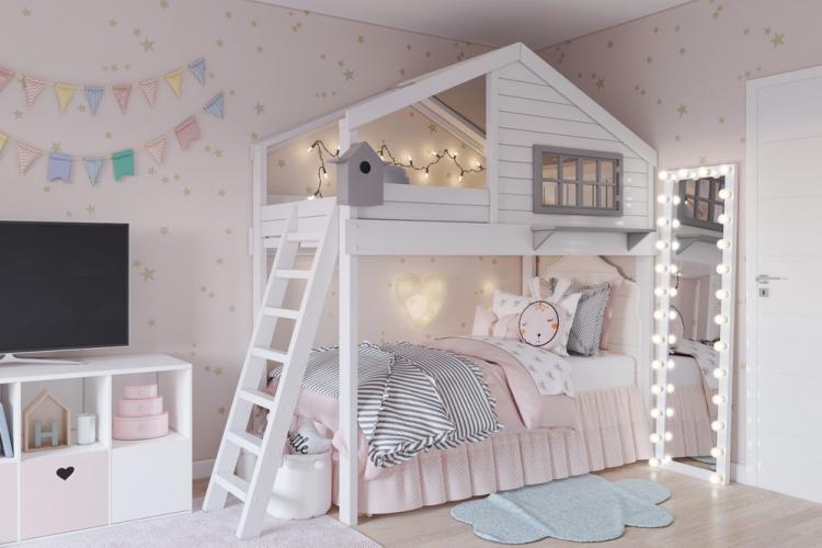 Детская комната для шестилетней девочки