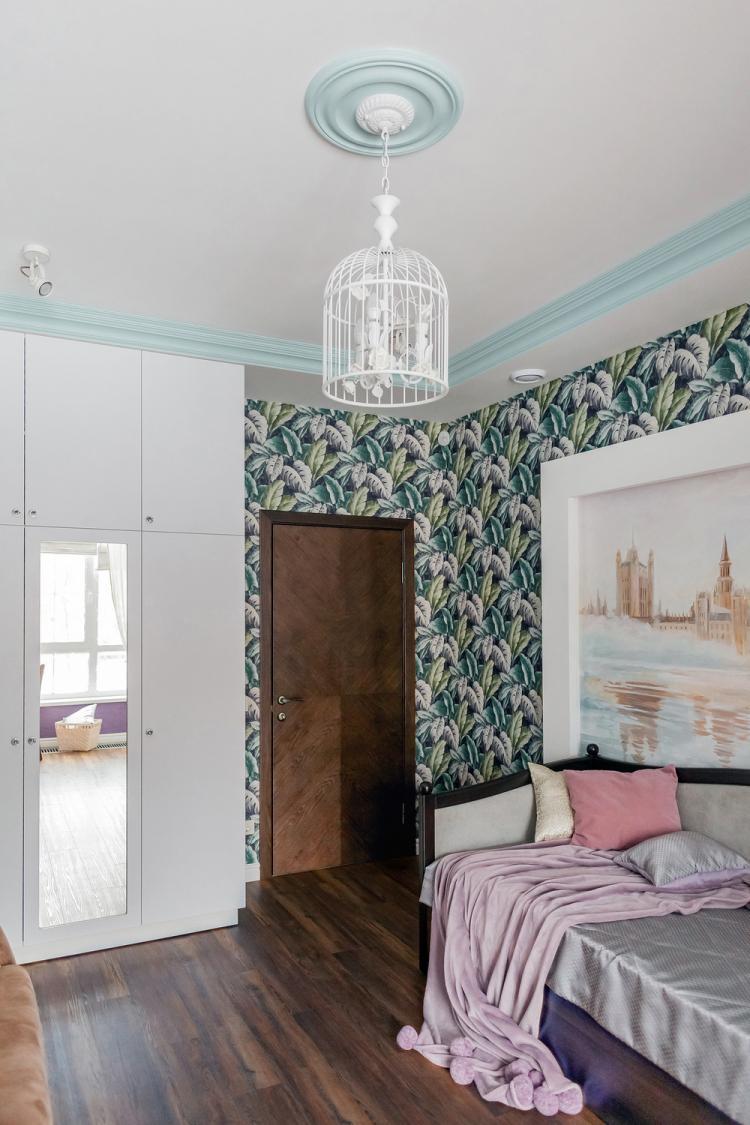 Детская комната для девочки-подростка - дизайн интерьера