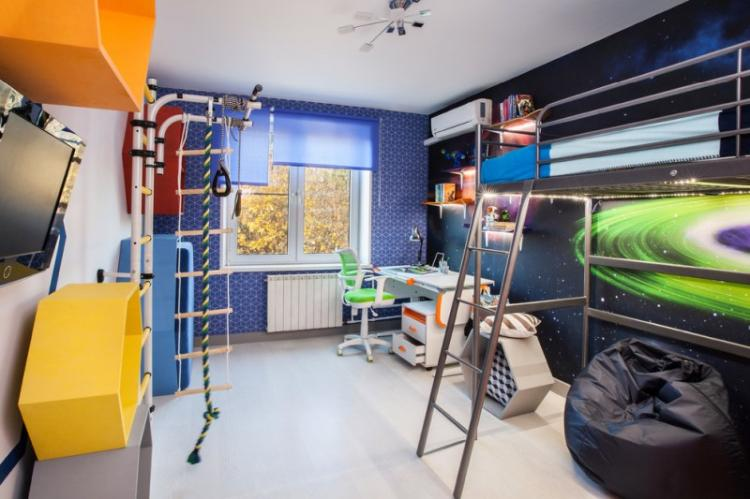 Тематическое оформление - Дизайн детской комнаты для мальчика
