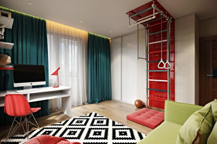 Дизайн детской комнаты для мальчика - фото реальных интерьеров