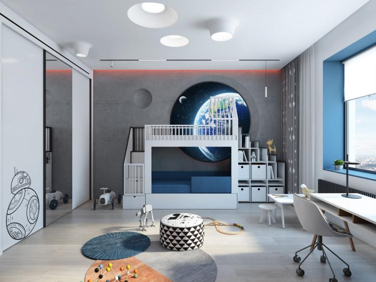 Детская комната «Гравитация»