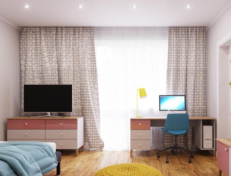 Детская комната «Minnie Mouse» - дизайн интерьера