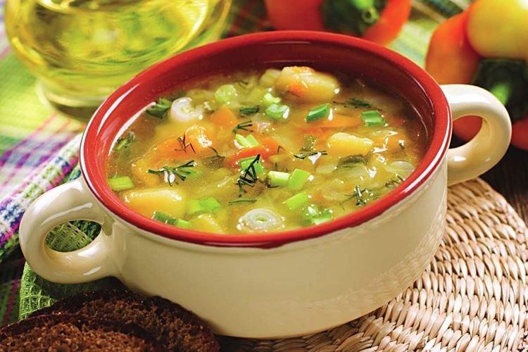 Диетический суп-гуляш с овощами и индейкой - рецепты