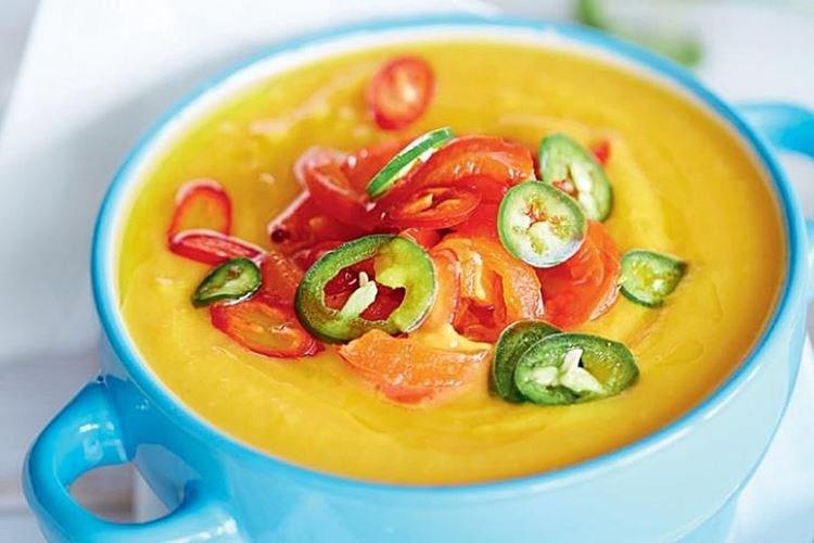 Диетический тыквенный суп-пюре - рецепты