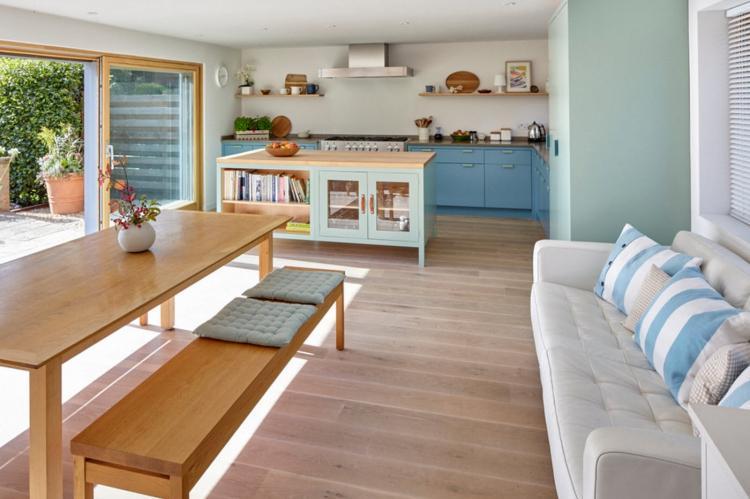 Раскладные диваны - Прямые диваны для кухни