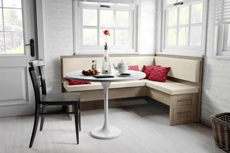 Угловые диваны для кухни