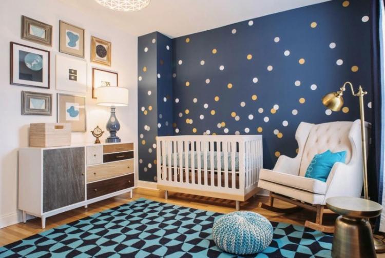 Отделка стен - Дизайн детской комнаты для девочки