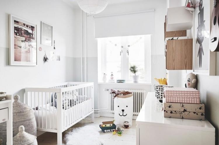 Детская для девочки в скандинавском стиле - Дизайн интерьера