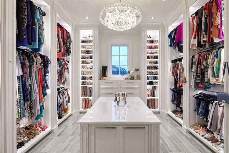 Дизайн гардеробной комнаты: 65 фото-идей