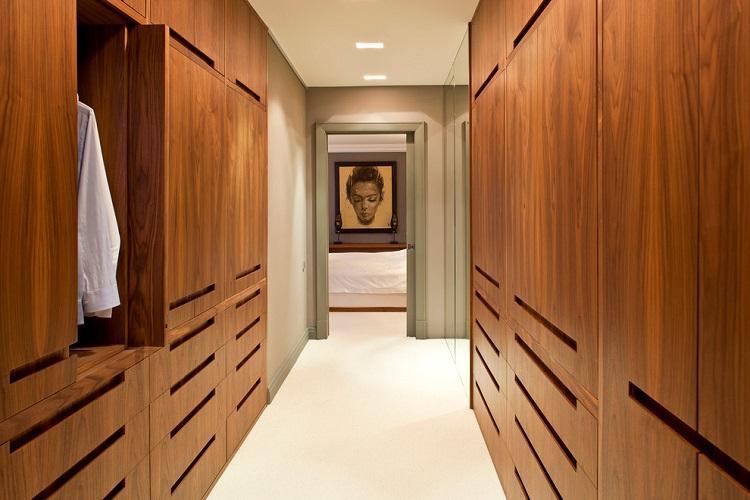 Гардеробная в коридоре - Дизайн интерьера