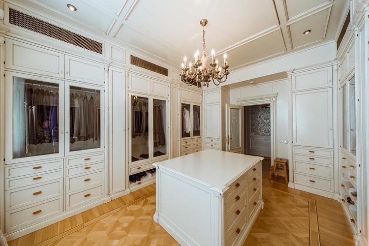 Как грамотно организовать пространство - Дизайн гардеробной комнаты