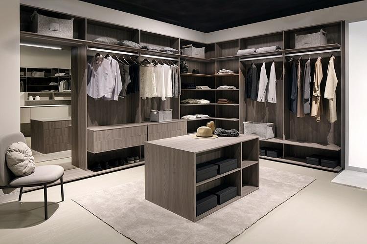 Дизайн гардеробной комнаты - фото реальных интерьеров