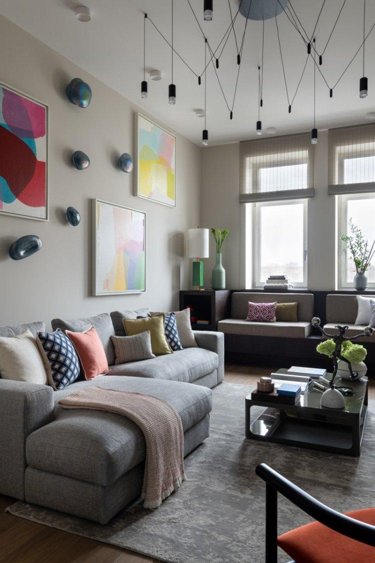 Как расставить мебель в гостиной 15 кв.м.