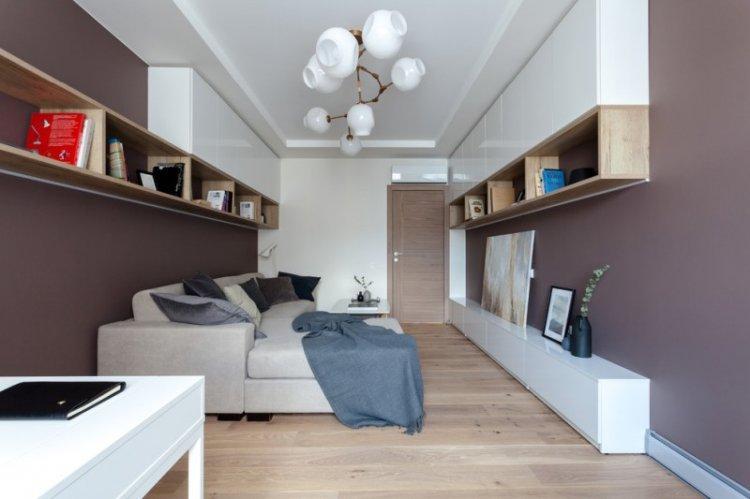 Гостиная 15 кв.м. - дизайн интерьера фото
