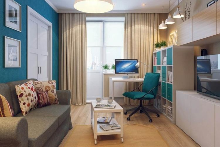 Дизайн интерьера гостиной 18 кв.м. (80 фото)