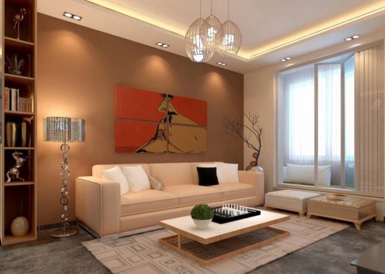 Освещение - Дизайн гостиной 18 кв.м.