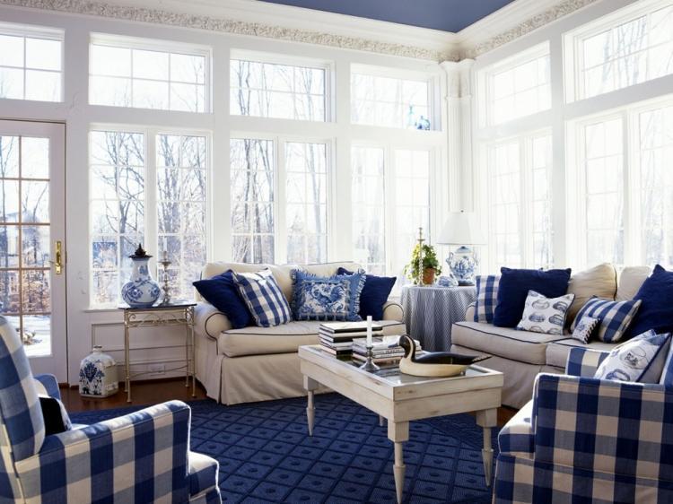 Текстиль - Дизайн гостиной 18 кв.м.