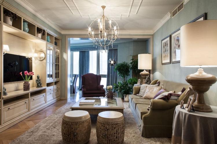 Дизайн гостиной 18 кв.м. - фото реальных интерьеров