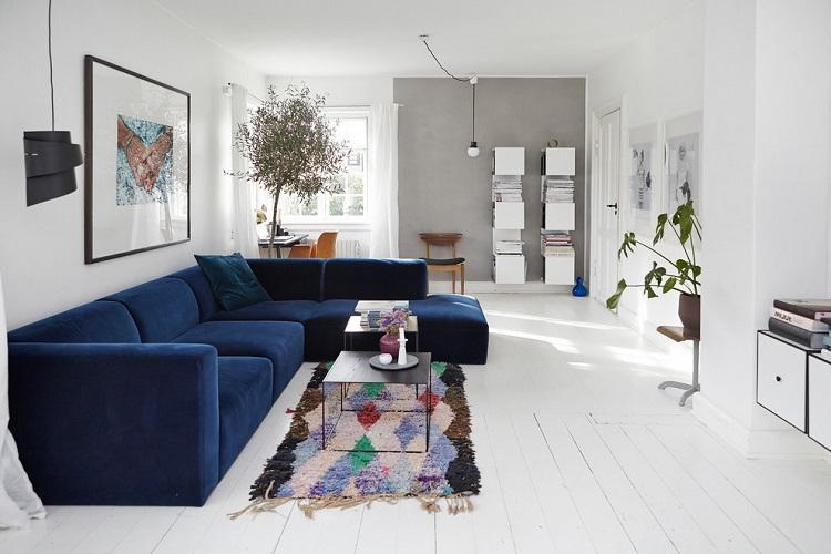 Гостиная в современном стиле - Дизайн интерьера 2019