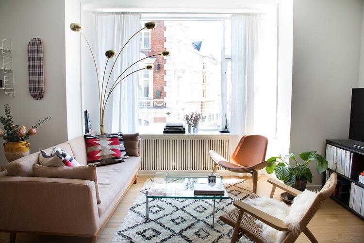 Гостиная в скандинавском стиле - Дизайн интерьера 2019