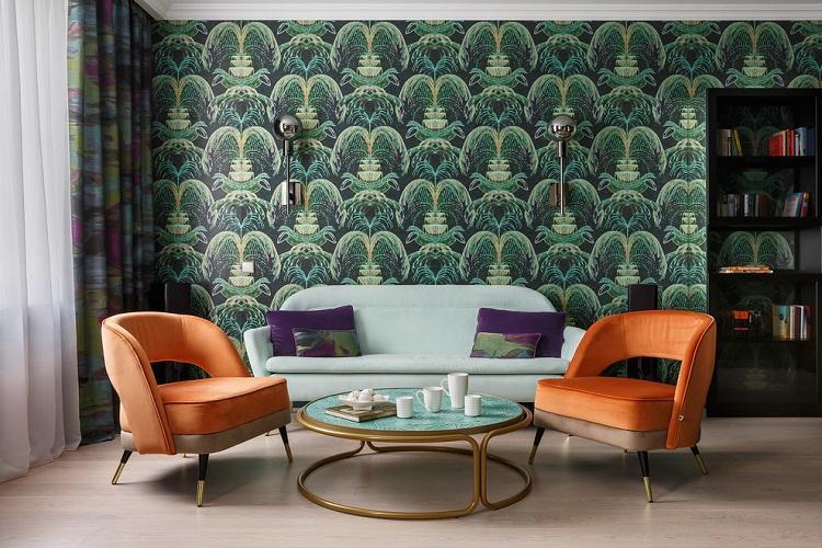 Мебель - Дизайн гостиной 2019
