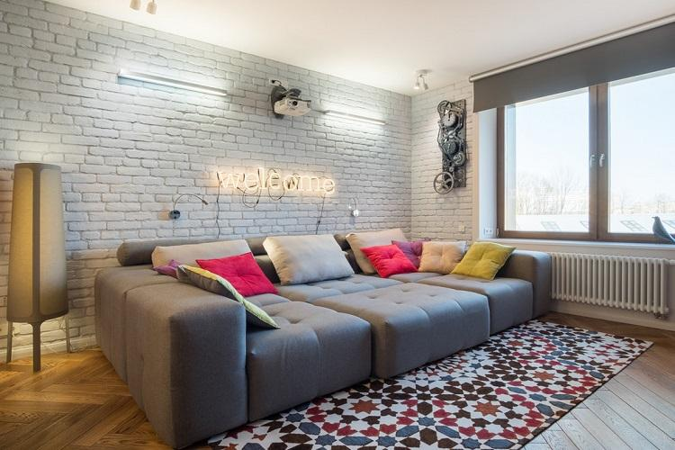 Дизайн гостиной 2019 - фото реальных интерьеров