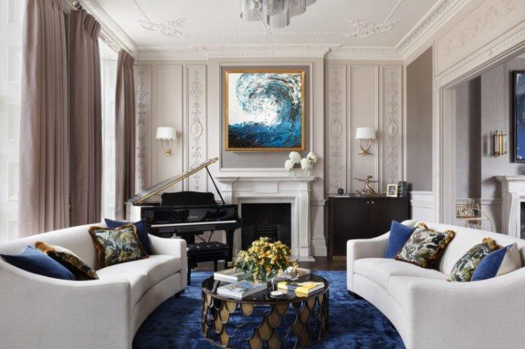 Особенности - Дизайн гостиной в классическом стиле