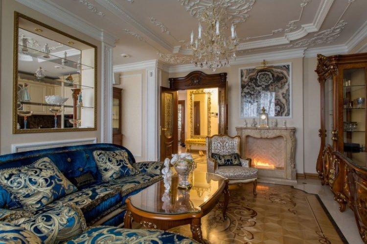 Мебель - Дизайн гостиной в классическом стиле