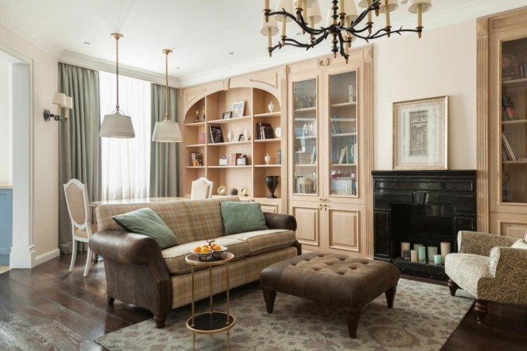 Декор - Дизайн гостиной в классическом стиле
