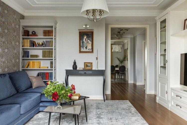 Освещение и подсветка - Дизайн гостиной в классическом стиле