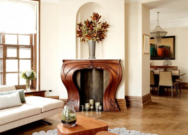 Дизайн интерьера гостиной в стиле модерн