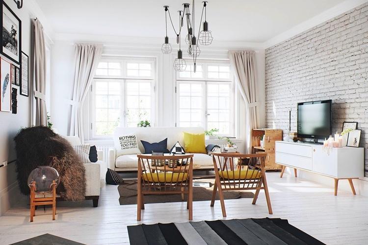 Дизайн интерьера гостиной - фото