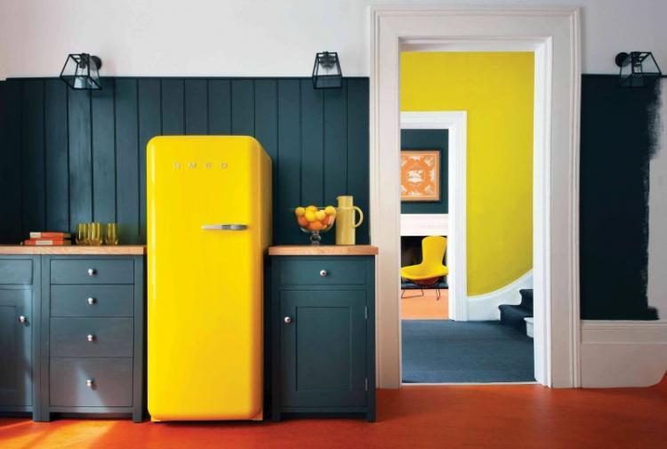 Дизайн холодильника - Дизайн интерьера кухни
