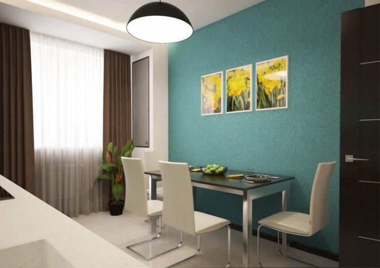 Отделка стен - Дизайн интерьера кухни