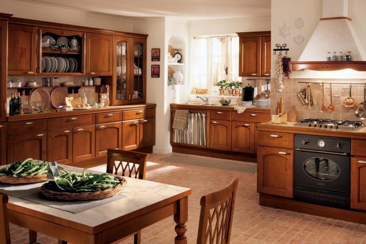 Кухня в классическом стиле - Дизайн интерьера