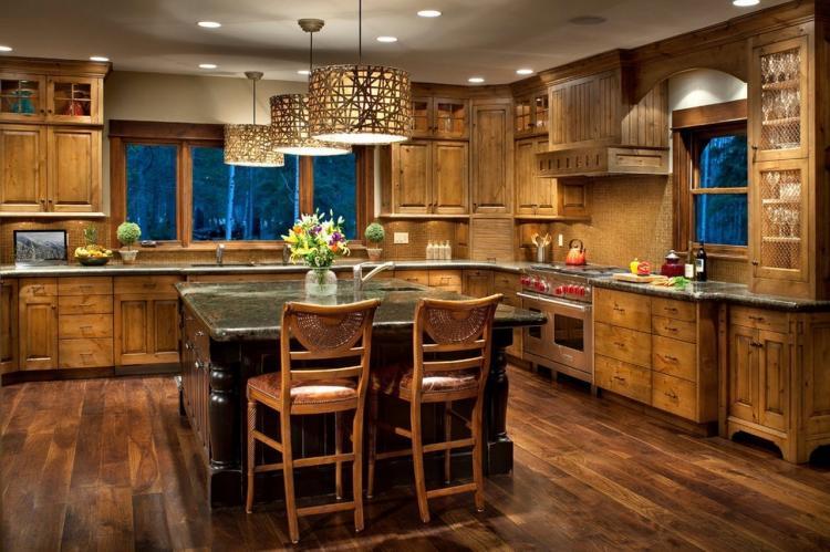 Кухня в стиле кантри - Дизайн интерьера