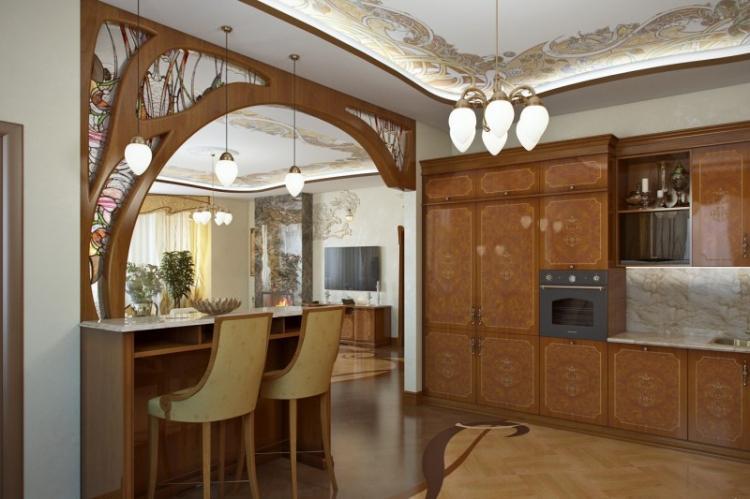 Кухня в стиле модерн - Дизайн интерьера
