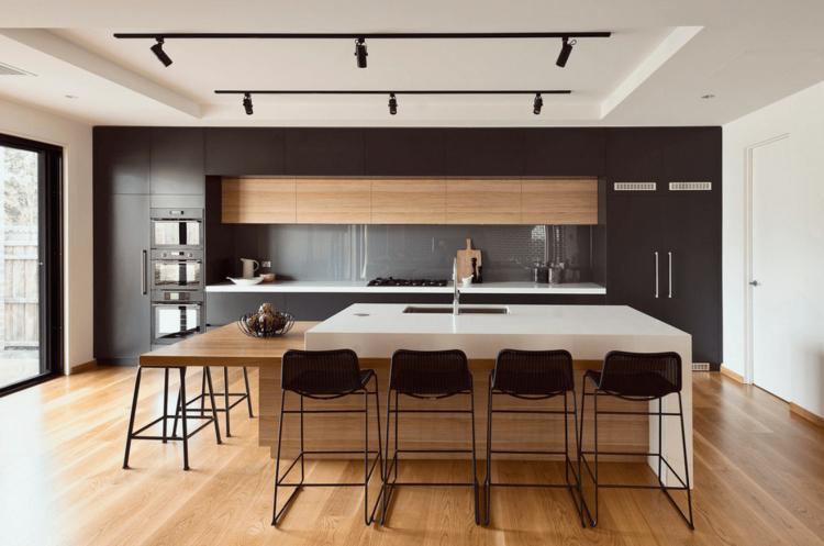 Кухня в стиле минимализм - Дизайн интерьера