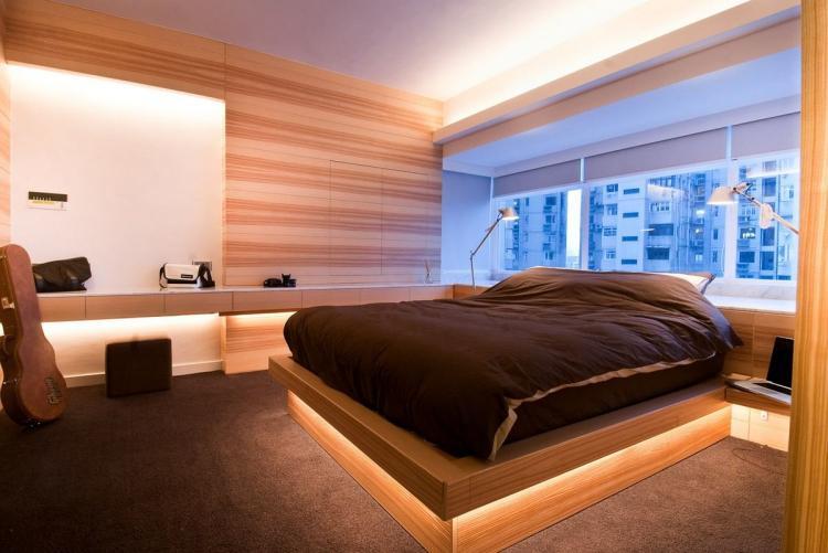 Освещение - Дизайн интерьера спальни